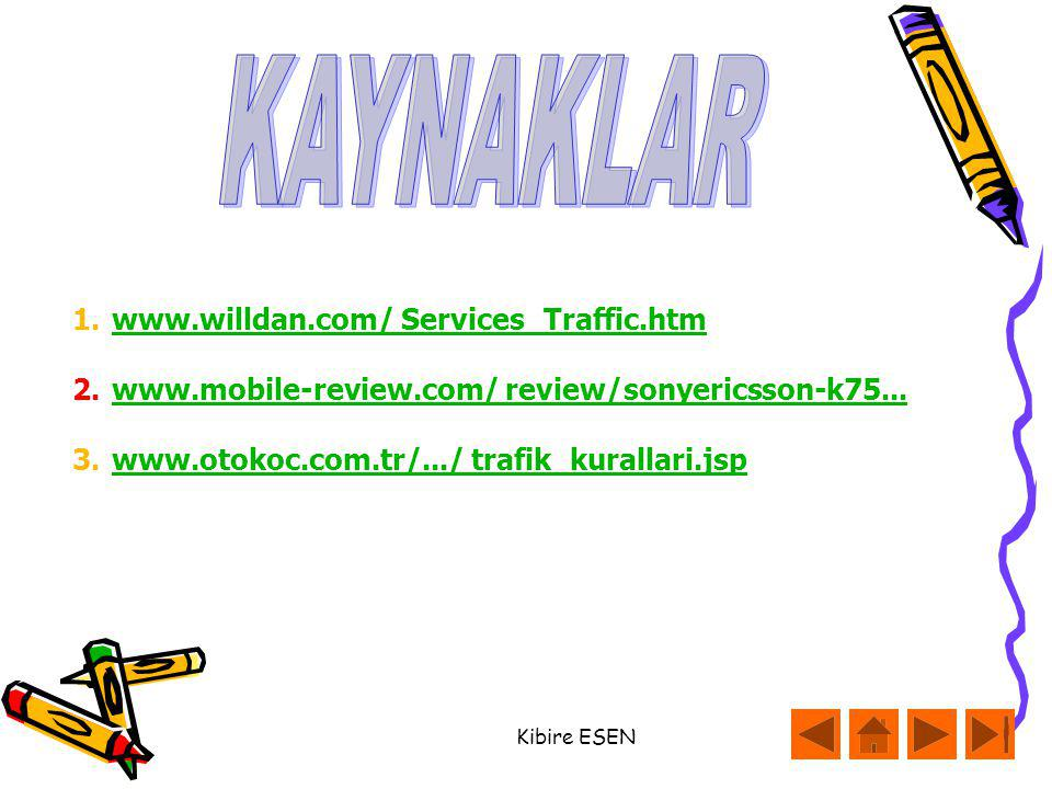 KAYNAKLAR www.willdan.com/ Services_Traffic.htm