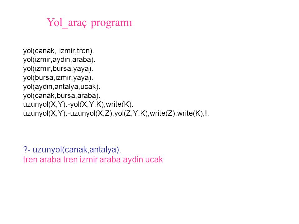 Yol_araç programı - uzunyol(canak,antalya).