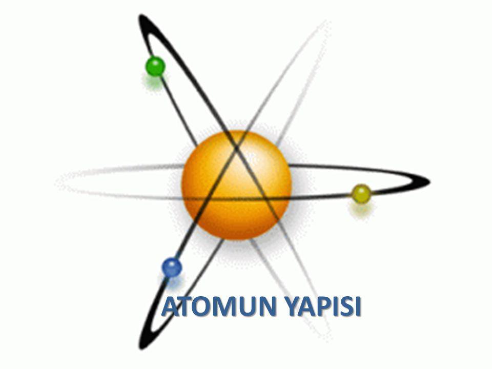 ATOMUN YAPISI