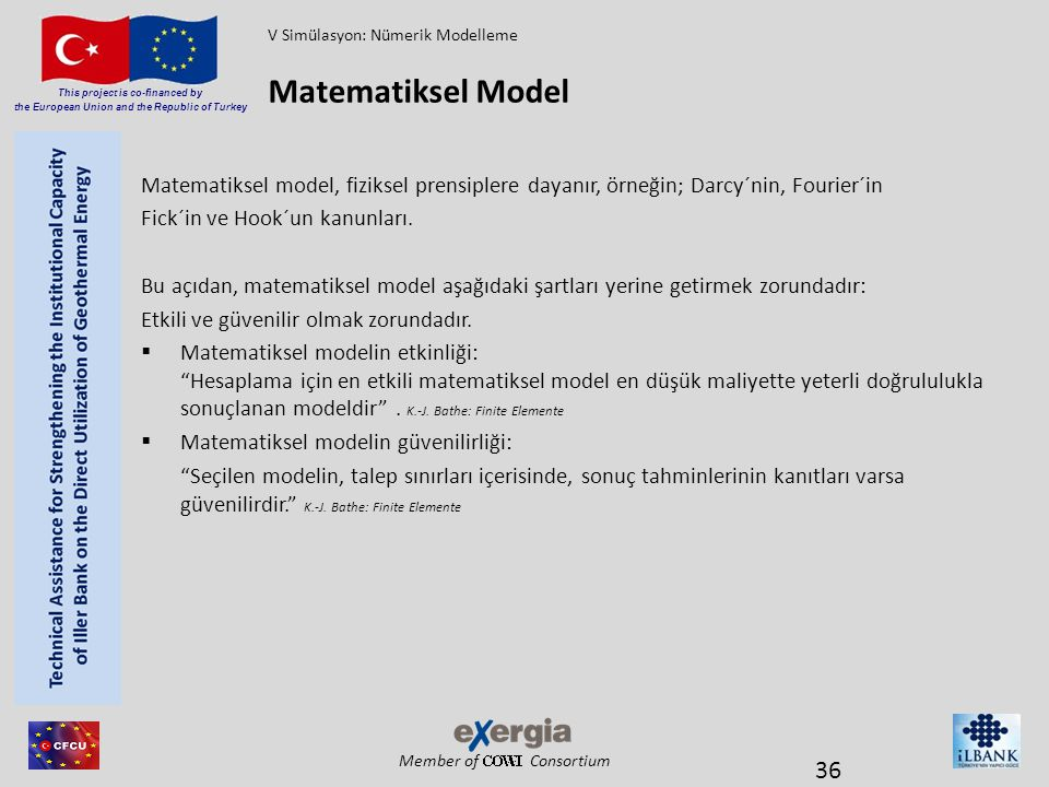 V Simülasyon: Nümerik Modelleme