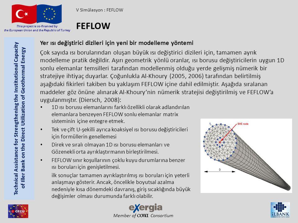 FEFLOW Yer ısı değiştirici dizileri için yeni bir modelleme yöntemi
