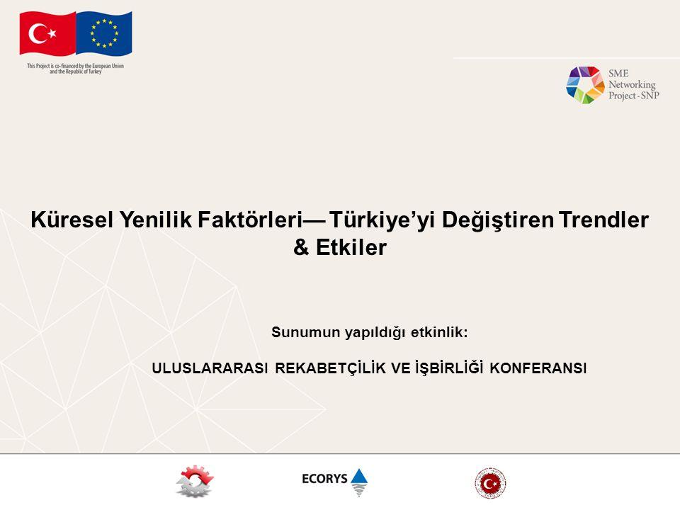 Küresel Yenilik Faktörleri— Türkiye'yi Değiştiren Trendler & Etkiler