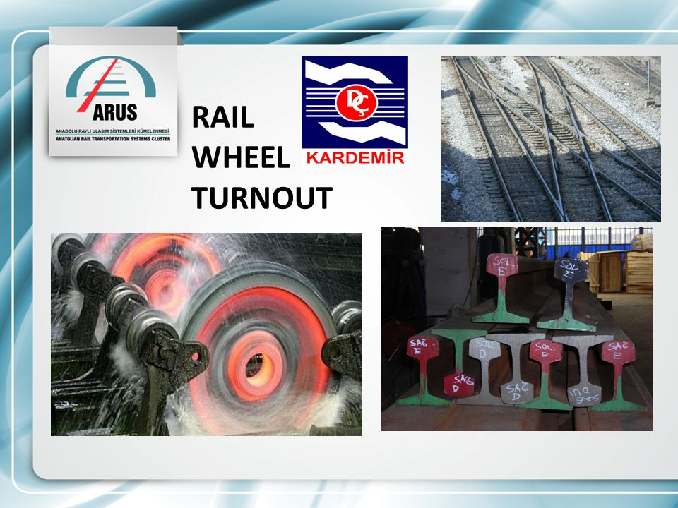 RAIL WHEEL TURNOUT