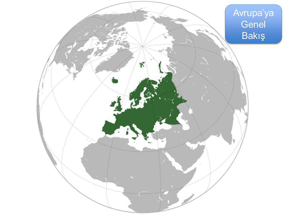 Avrupa'ya Genel Bakış