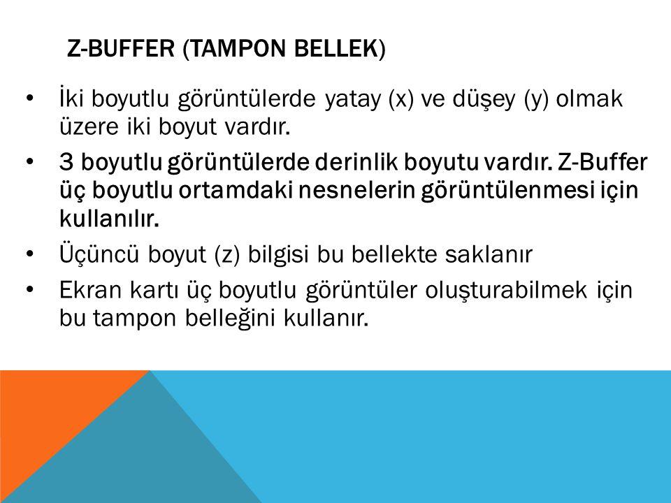 Z-Buffer (Tampon Bellek)