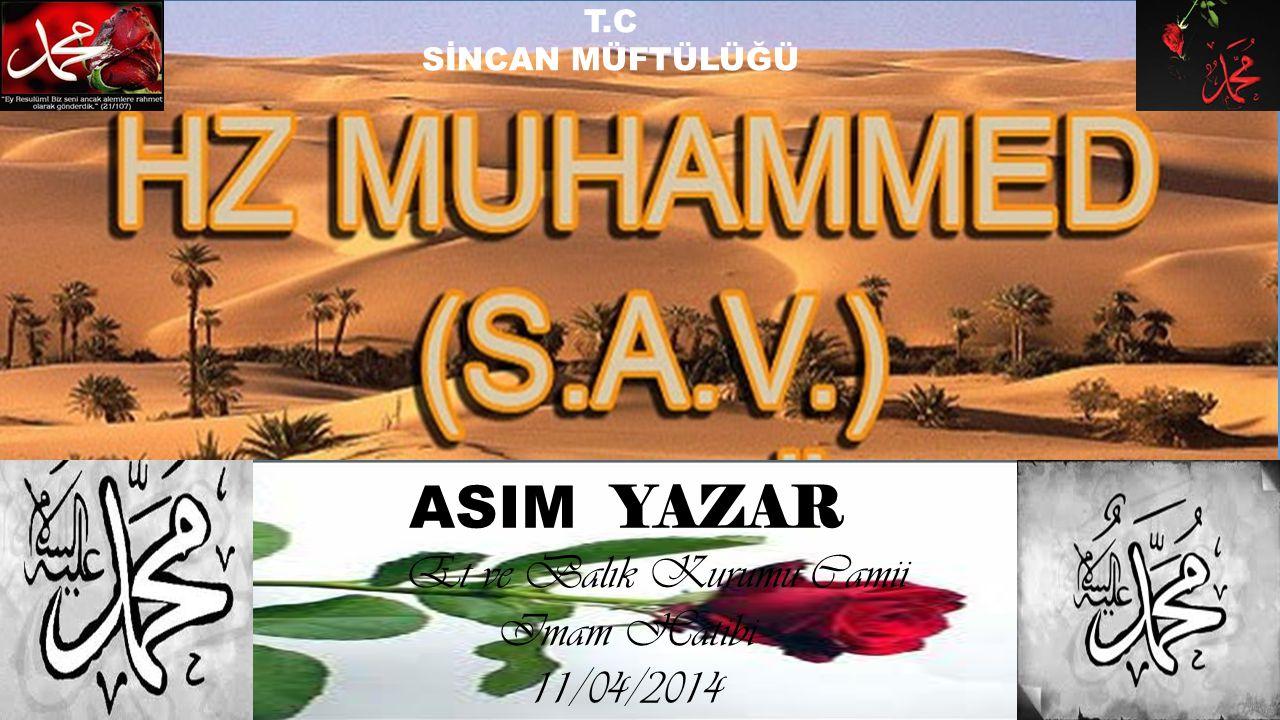 Et ve Balık Kurumu Camii Imam Hatibi 11/04/2014