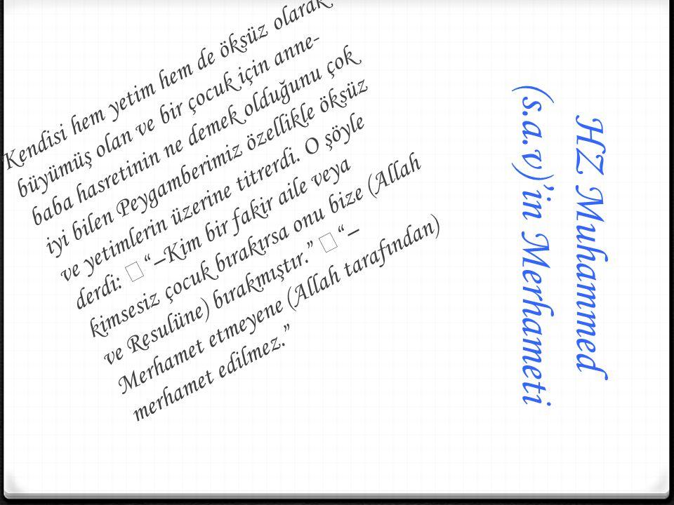 HZ Muhammed (s.a.v)'in Merhameti