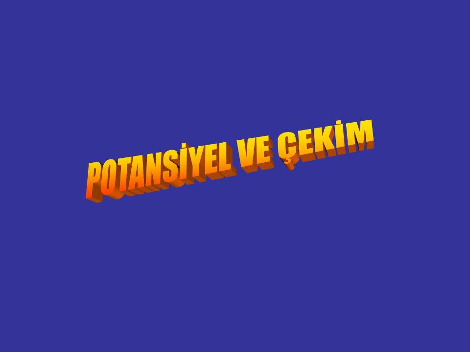POTANSİYEL VE ÇEKİM