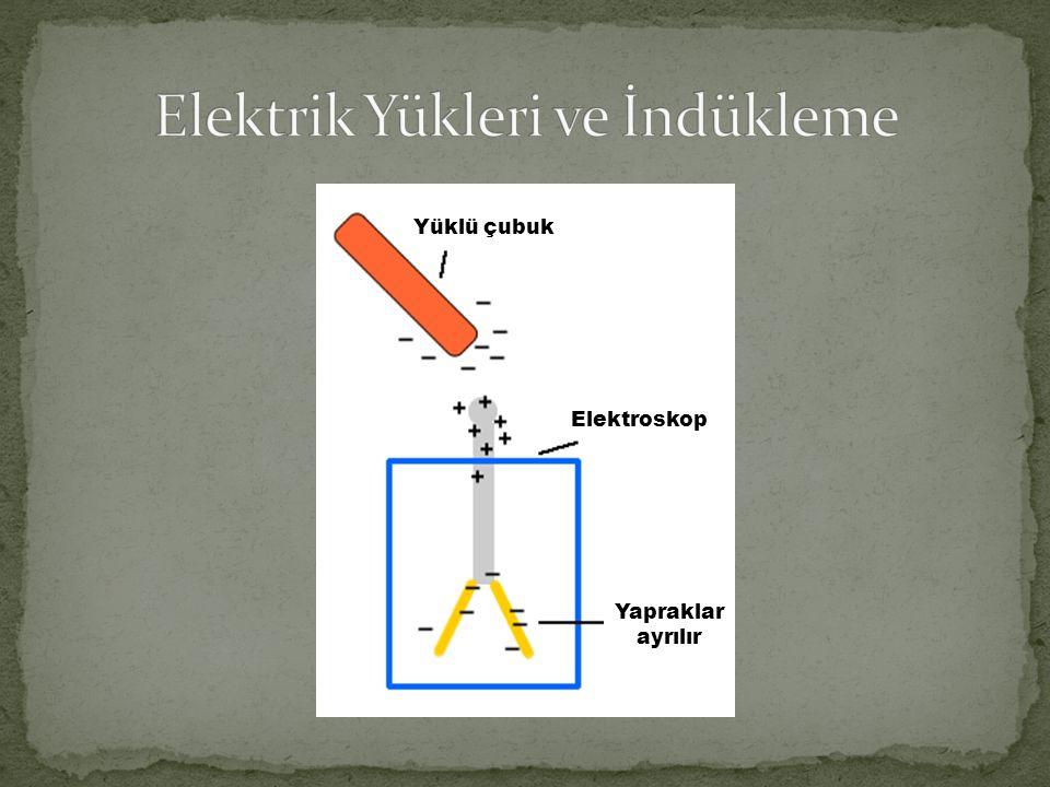 Elektrik Yükleri ve İndükleme