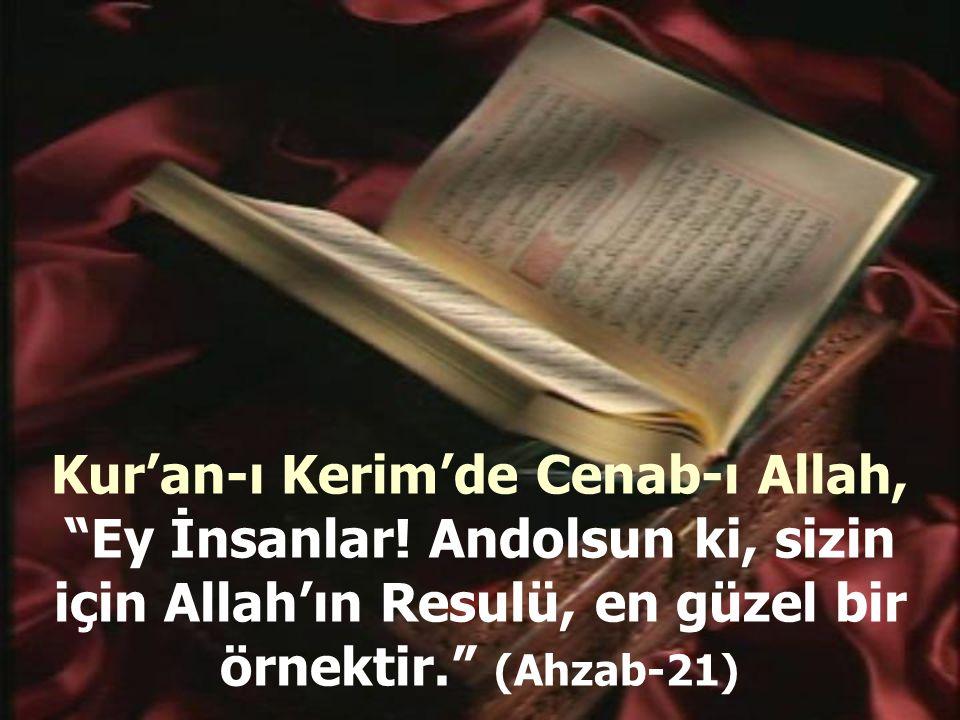 Kur'an-ı Kerim'de Cenab-ı Allah, Ey İnsanlar