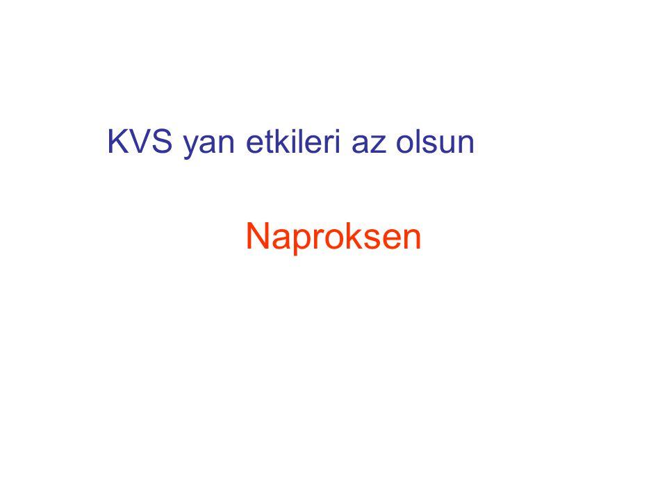 KVS yan etkileri az olsun