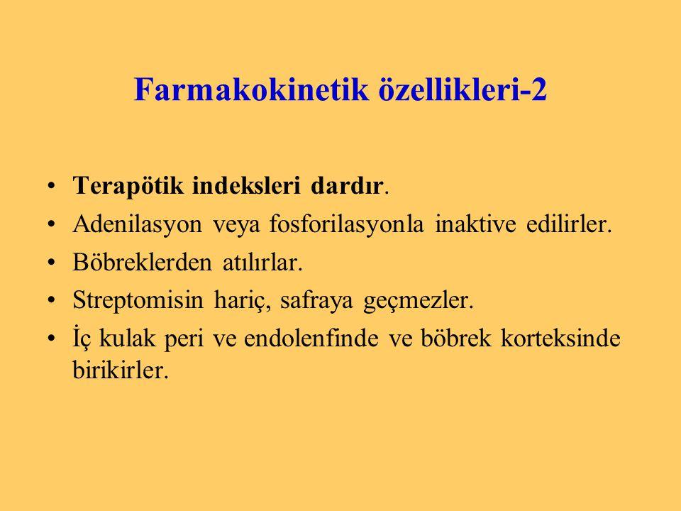 Farmakokinetik özellikleri-2