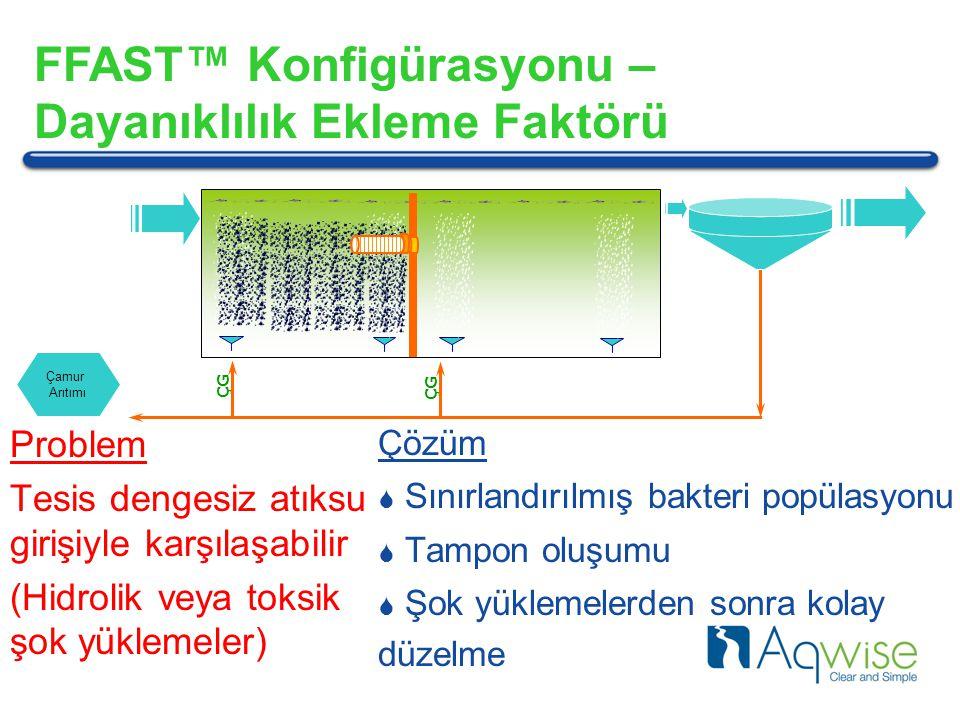 FFAST™ Konfigürasyonu – Dayanıklılık Ekleme Faktörü