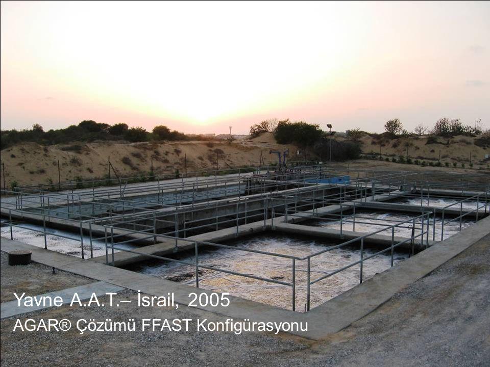 Yavne A.A.T.– İsrail, 2005 AGAR® Çözümü FFAST Konfigürasyonu 19