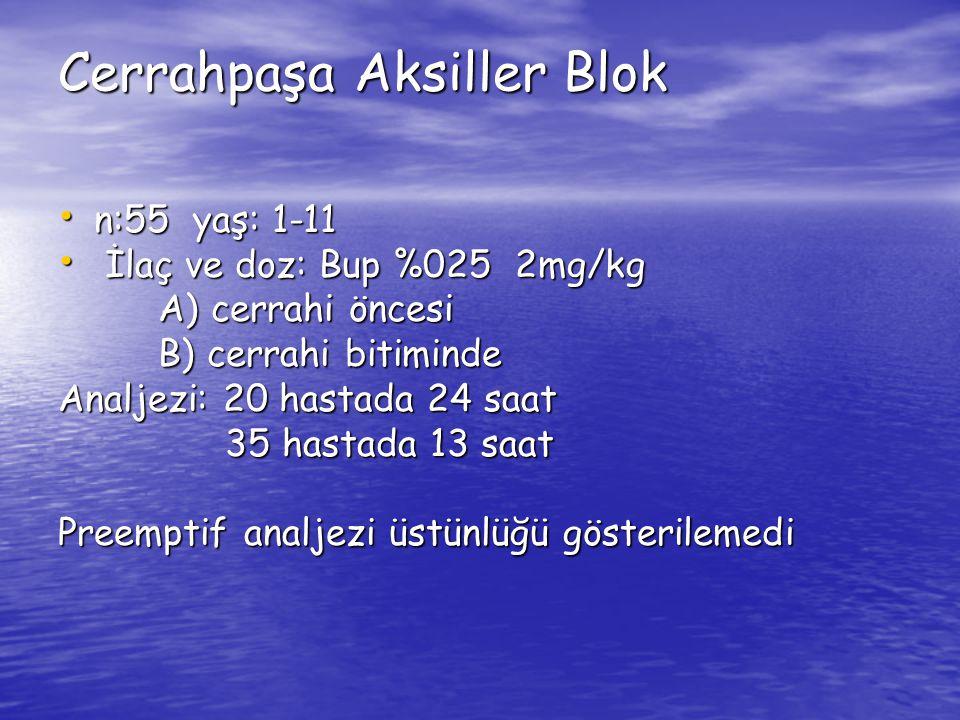 Cerrahpaşa Aksiller Blok