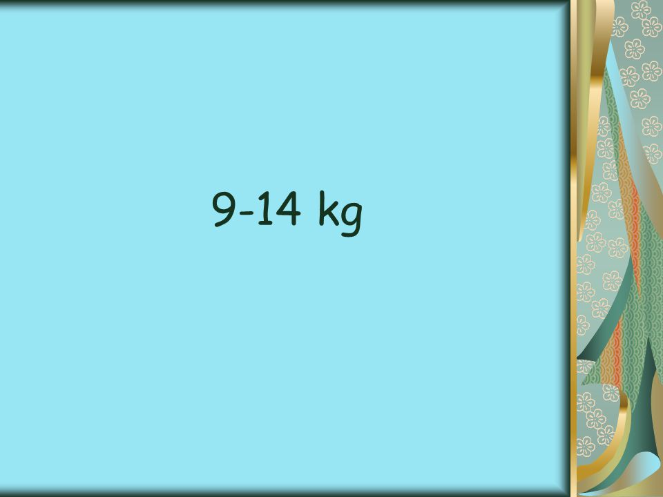 9-14 kg