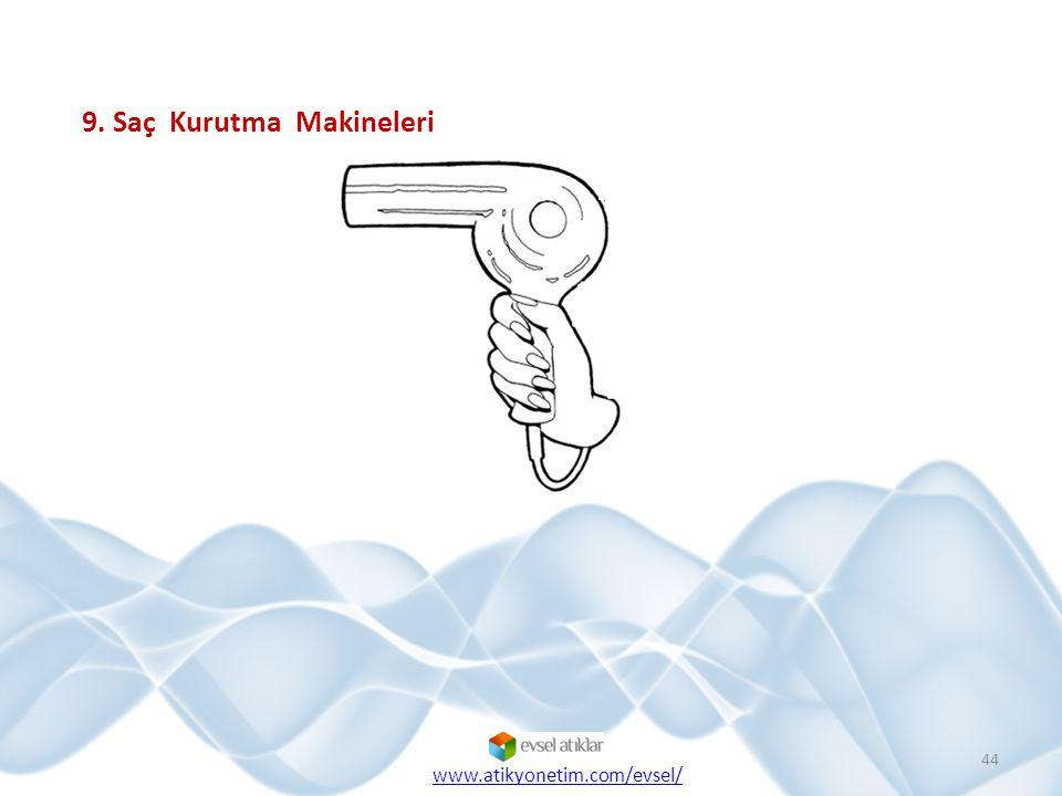9. Saç Kurutma Makineleri