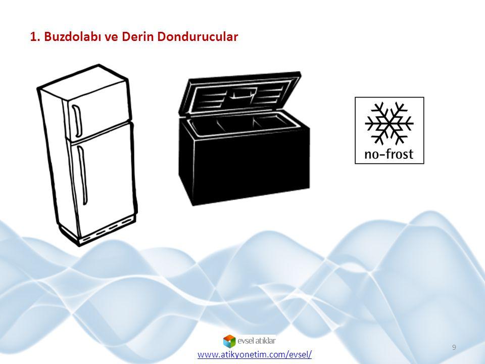 1. Buzdolabı ve Derin Dondurucular