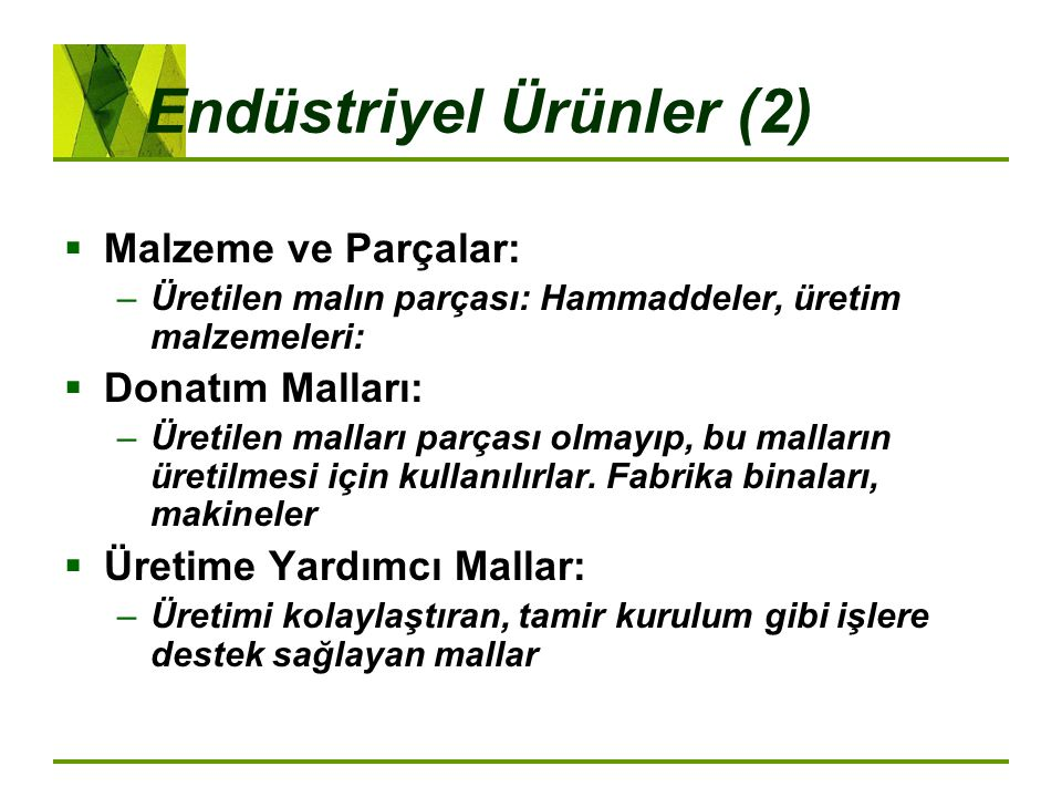 Endüstriyel Ürünler (2)