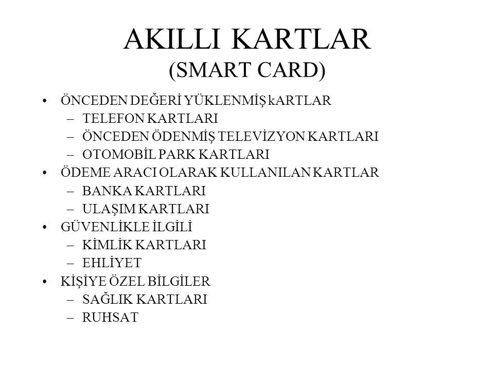 AKILLI KARTLAR (SMART CARD)