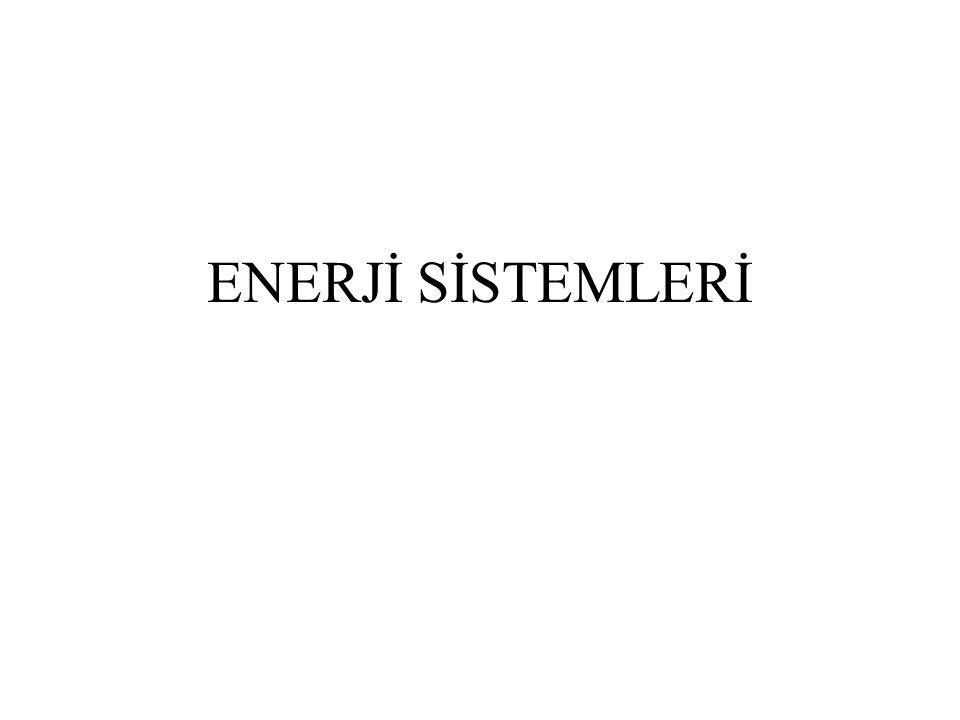 ENERJİ SİSTEMLERİ