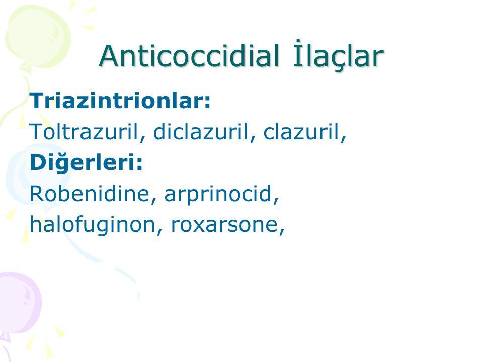 Anticoccidial İlaçlar