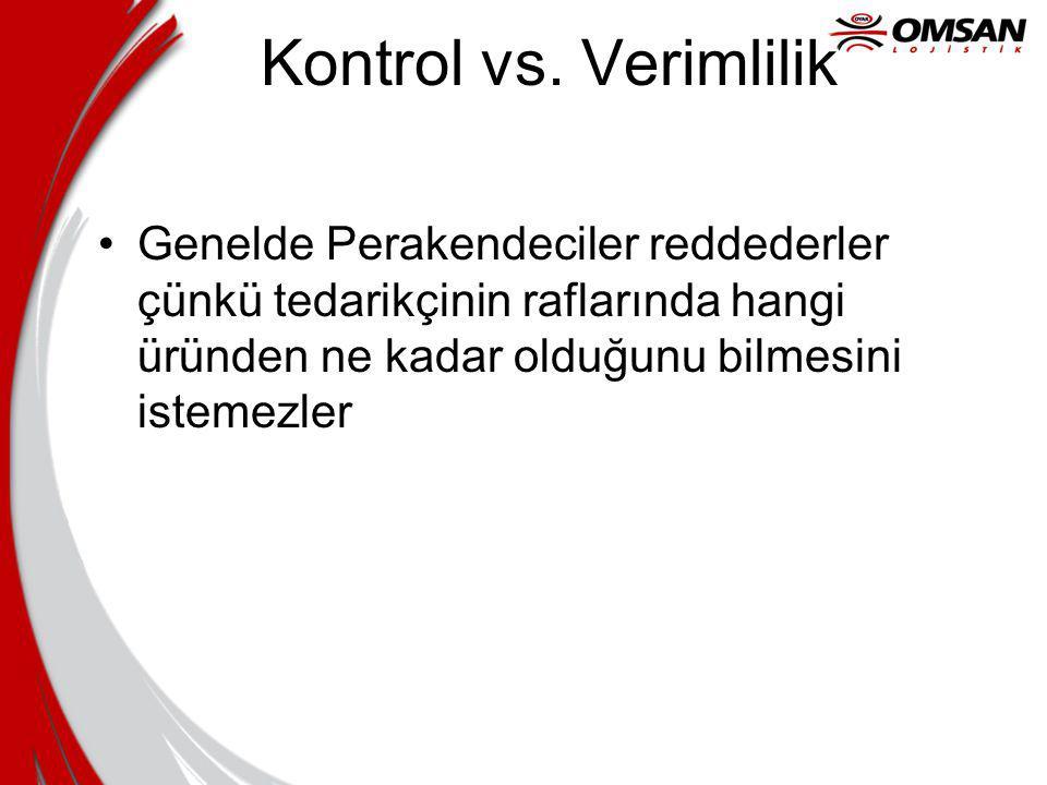 Kontrol vs.