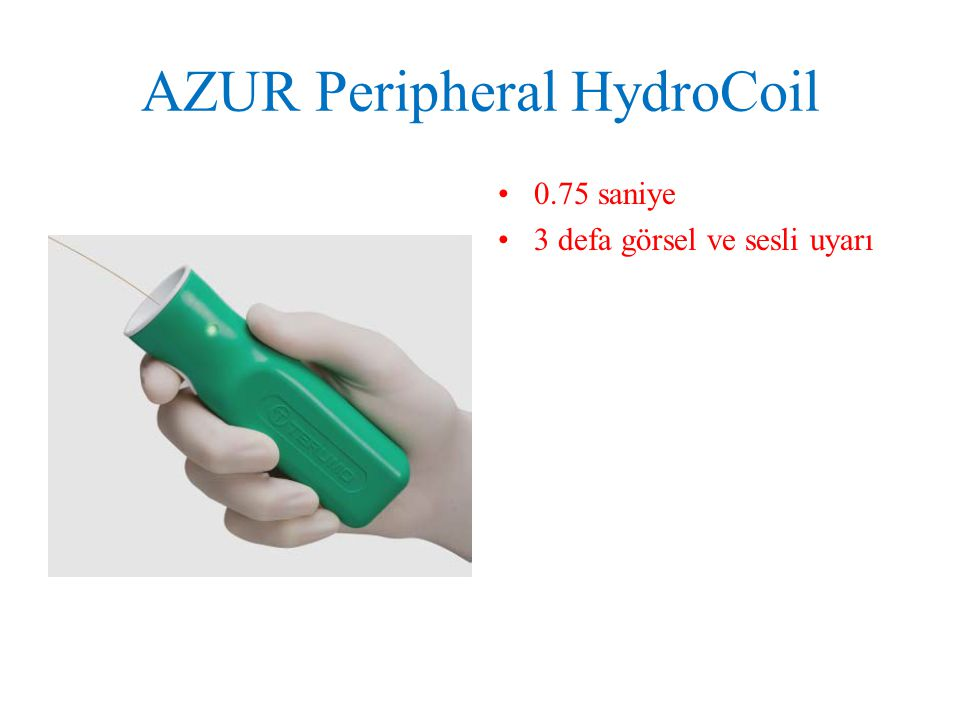 AZUR Peripheral HydroCoil
