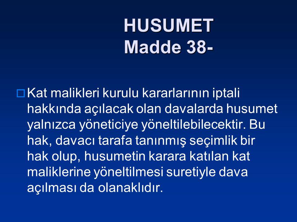 HUSUMET Madde 38-