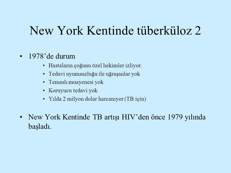 New York Kentinde tüberküloz 2