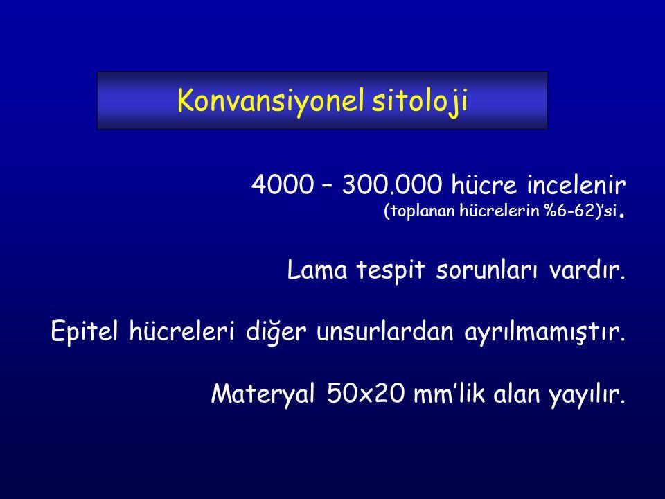 Konvansiyonel sitoloji
