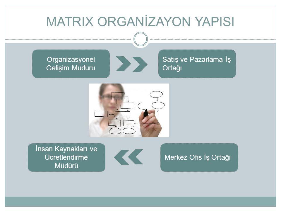 MATRIX ORGANİZAYON YAPISI