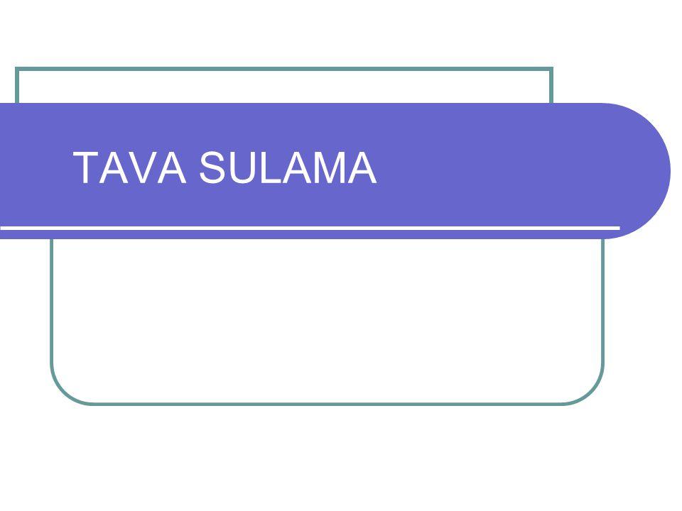TAVA SULAMA