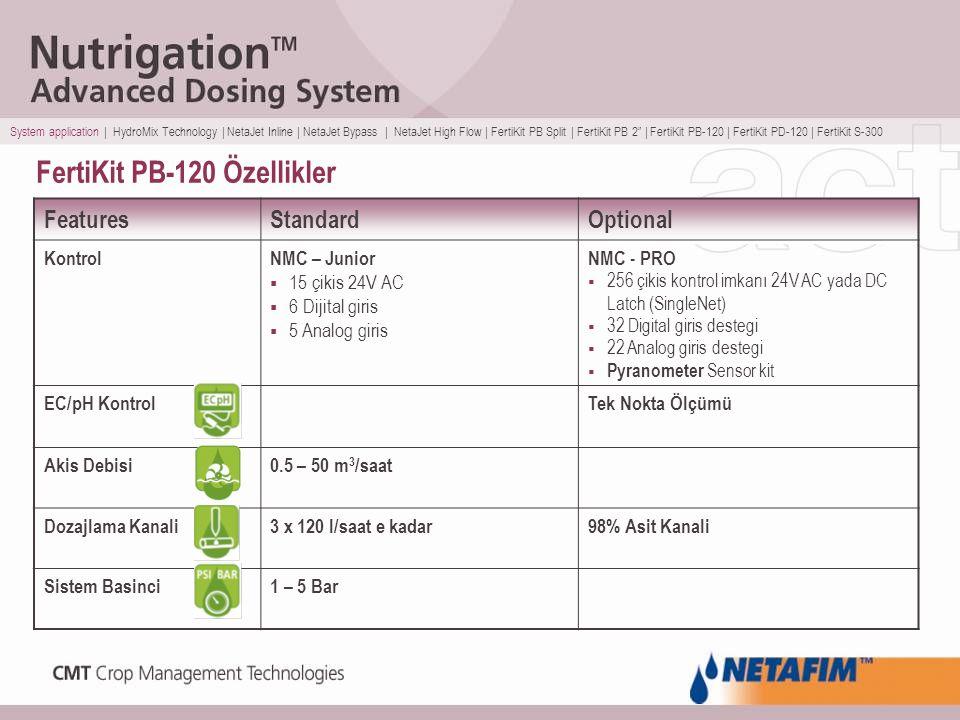 FertiKit PB-120 Özellikler