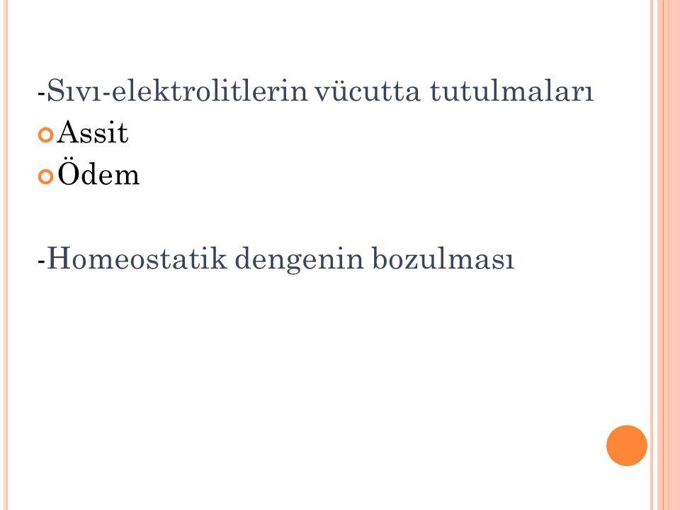 -Sıvı-elektrolitlerin vücutta tutulmaları