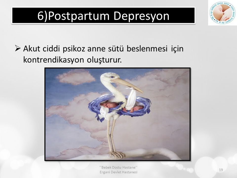 6)Postpartum Depresyon