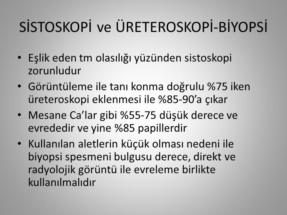 SİSTOSKOPİ ve ÜRETEROSKOPİ-BİYOPSİ
