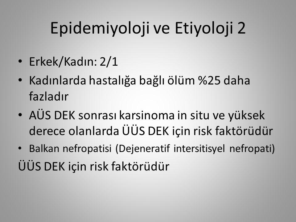 Epidemiyoloji ve Etiyoloji 2