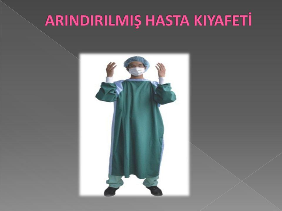 ARINDIRILMIŞ HASTA KIYAFETİ