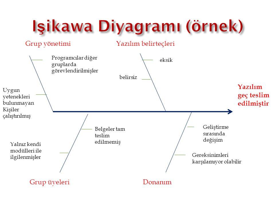 Işikawa Diyagramı (örnek)