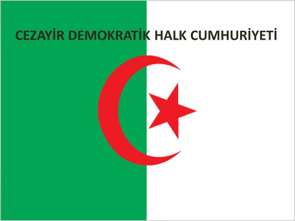 CEZAYİR DEMOKRATİK HALK CUMHURİYETİ