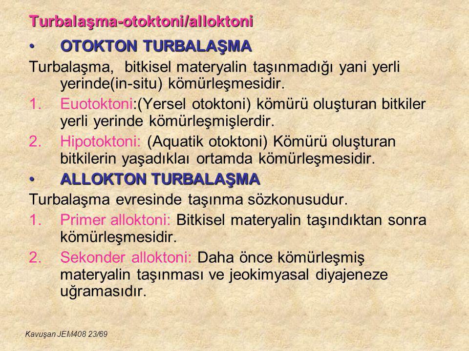 Turbalaşma-otoktoni/alloktoni