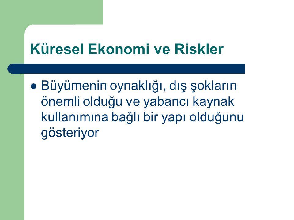 Küresel Ekonomi ve Riskler
