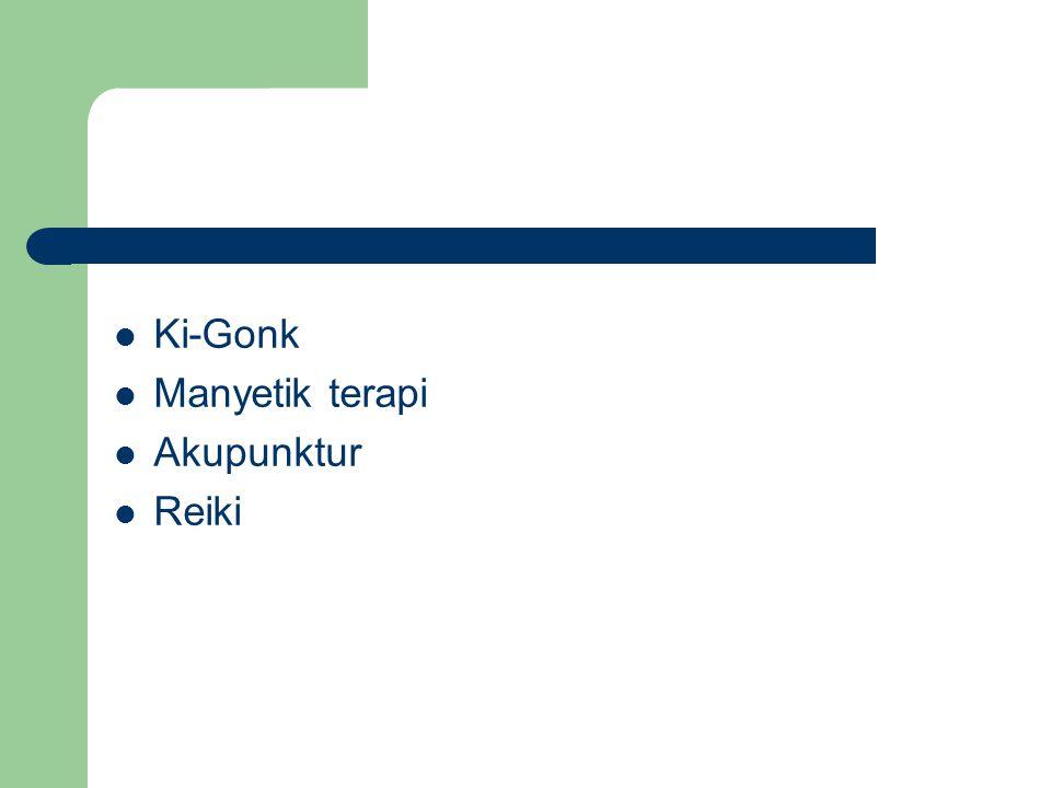 Ki-Gonk Manyetik terapi Akupunktur Reiki