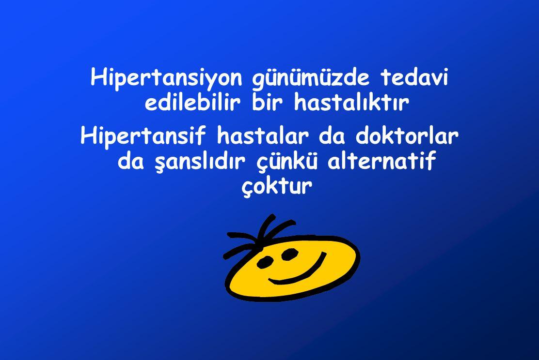 Hipertansiyon günümüzde tedavi edilebilir bir hastalıktır