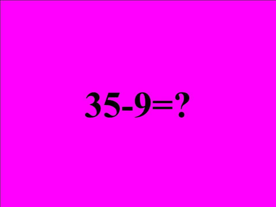 Çıkan öğrenciler 4+5 = 4 35-9= 35 öğrenci 5