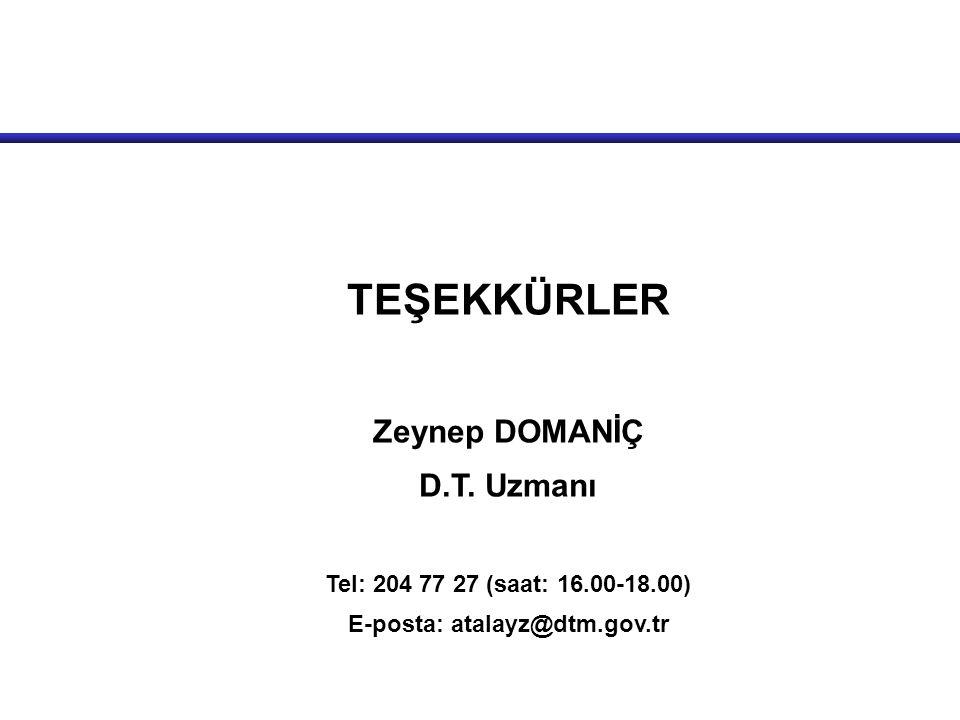 E-posta: atalayz@dtm.gov.tr