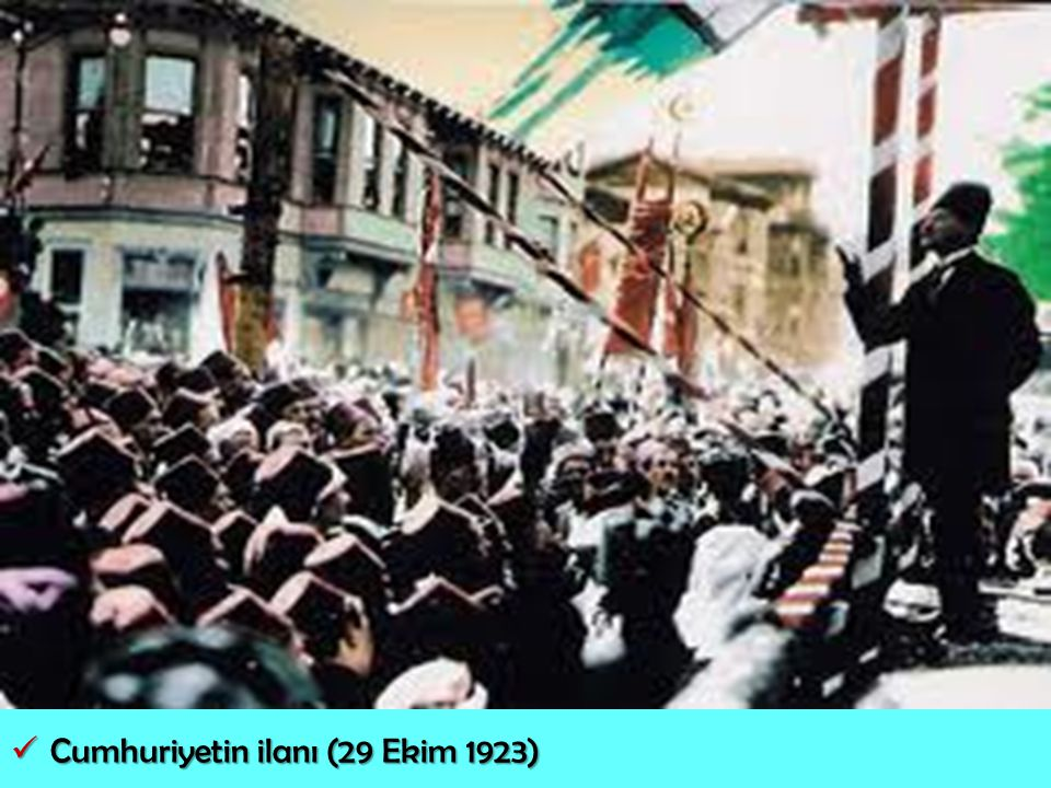 Cumhuriyetin ilanı (29 Ekim 1923)