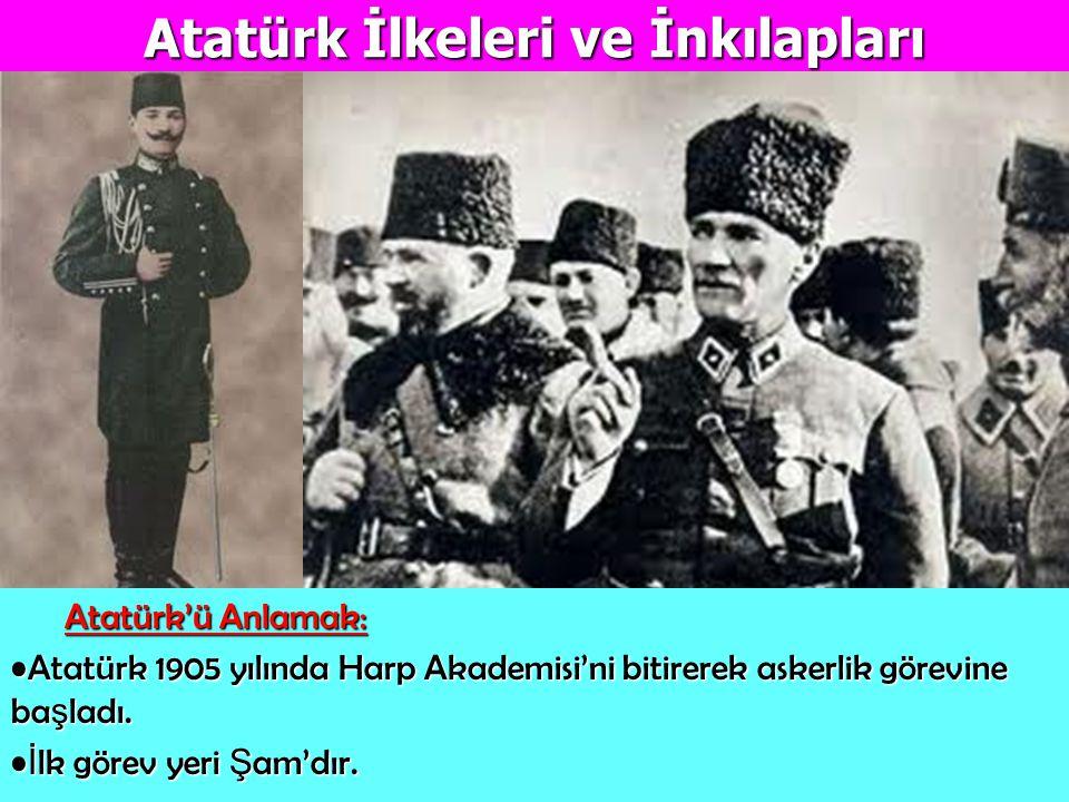 Atatürk İlkeleri ve İnkılapları
