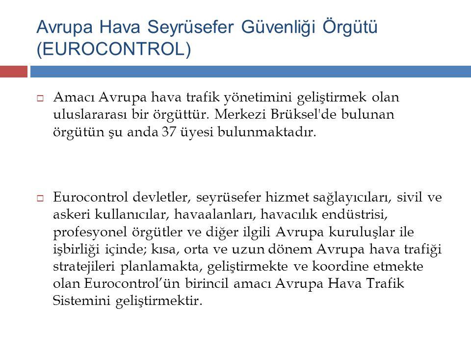Avrupa Hava Seyrüsefer Güvenliği Örgütü (EUROCONTROL)